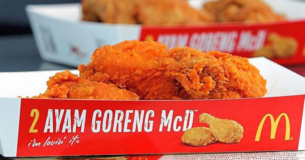 Mcdonald S Malaysia We Visited A Chicken Processing Plant And Haven T Gone Off Fried Chicken